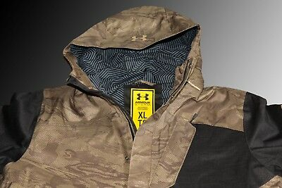 1cca6f6bad9b5 Under Armour Men's Cold Gear Infrared Electro Jacket Size X-Large Gold/Black