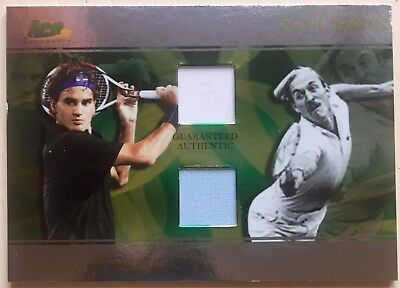 2008 Ace Authentic ROGER FEDERER/ STAN SMITH Dual Jerseys SP Match Point D3