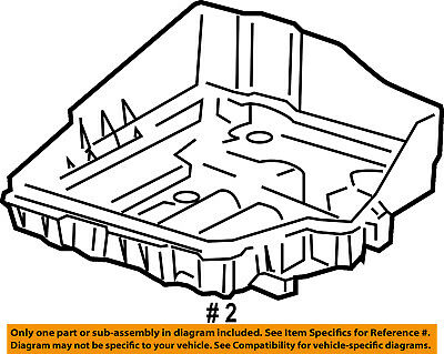 07 11 Dodge Caliber 07 13 Jeep Patriot Compass Battery Tray New