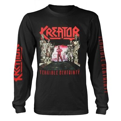 Kreator 'Terrible Certainty' Long Sleeve T shirt - NEW