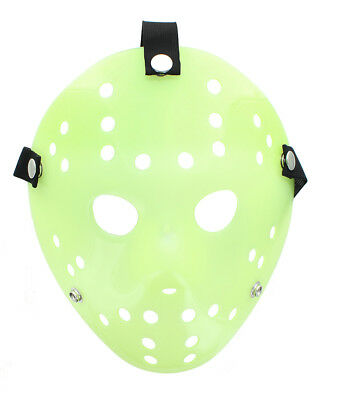 Friday the 13th Jason Adult Costume Mask - Glow In The Dark Version