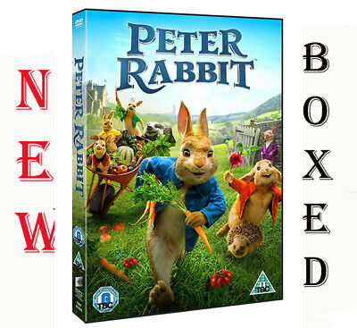 Peter Rabbit DVD Movie 2018 Region 2 Brand New Fast & Free Postage