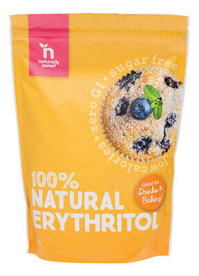 100% Natural Erythritol 1kg - Naturally Sweet