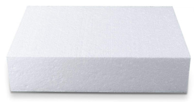 Staedter Rectangle Cutting for Demo Cake, White, 30 x 20 cm