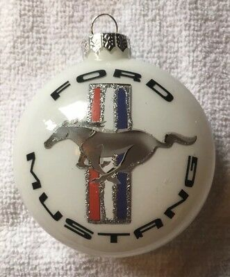 Ford Motor Co Mustang Genuine Parts Christmas Ornament Decoration Advertising