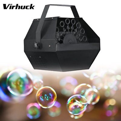 Pro 2L Blowing Automatic Bubble Machine 25W Fluid Maker Blower Party In/Outdoor
