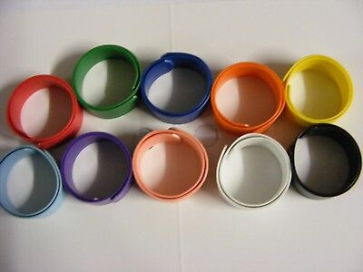 X Lge Chicken Rings  Poultry leg bands Wrap Very Heavy Breed Chicken & Roosters