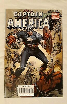 VF / NM 2009 CAPTAIN AMERICA #600 2nd Printing Variant MARVEL COMICS