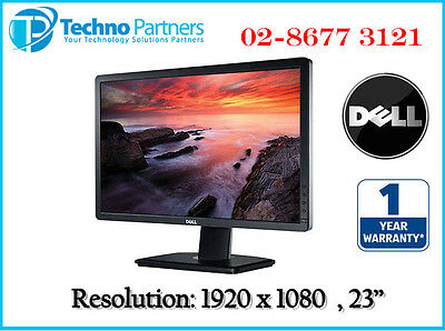 """Dell P2312H 23"""" 23in Widescreen Full HD LED LCD Computer Monitor 1Year Warranty"""