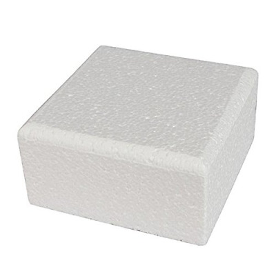 Square Bevelled Cake Dummy 8 Inches x 5 High