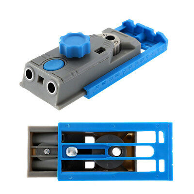 Mini Pocket Hole Jig Kit Woodworking Joinery Step Drill Bit Joiners Set Tzk3