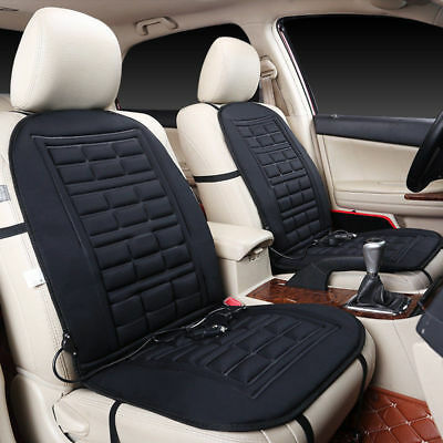 2x 12V Electric Car Front Heater Heated Seat Hot Cover Pad Cushion Warmer Winter