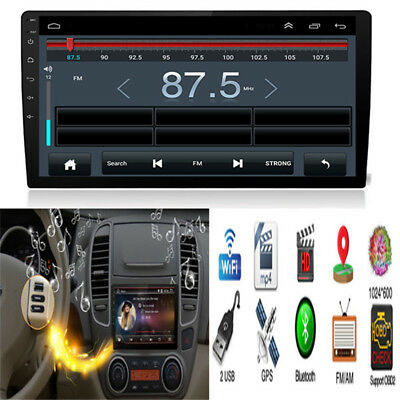 """10.1"""" Digital Capacitive Touch Screen Android 8.0 2Din Car Stereo Radio GPS Wifi"""