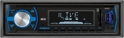 Volldigitales Autoradio mit Bluetooth, RDS, USB, SD, AUX In AEG AR 4030 BT