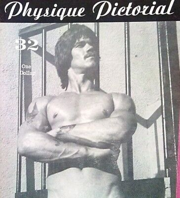 Physique Pictorial 32 vintage gay interest magazine