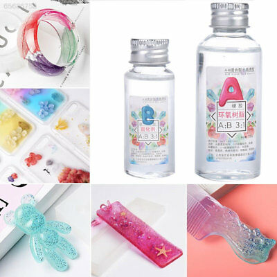 CF34 Manual High Transparent Design XM Epoxy Resin DIY Jewelry Adhesive AB Glue