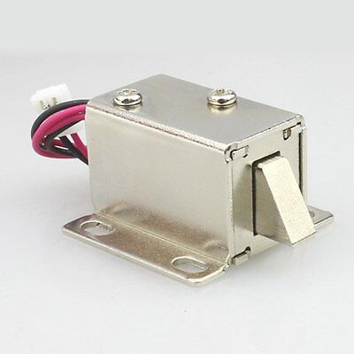 DC 12V File Display Cabinet Drawer Latch Assembly Solenoid Electric Lock 2W