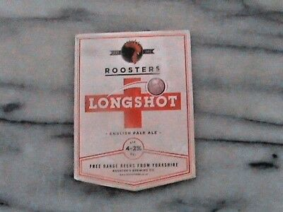 Roosters Long Shot real ale beer pump clip sign Football Theme