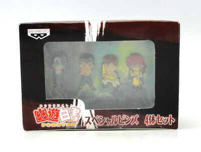 YU YU HAKUSHO Forever Special Pins Not For Sale BANPRESTO