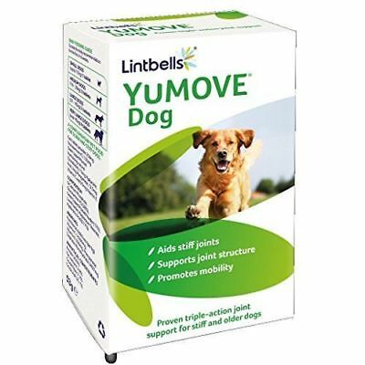 Lintbells Yumove Dog Supplement 60 Tablets Joint Aids Stiff Mobility Pet