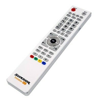 Superior Freedom 4 in 1 Universal Programmable Remote Control & Micro USB White