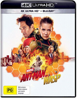 Ant-Man and the Wasp (4K UHD/Blu-ray)  - BLU-RAY - NEW Region B