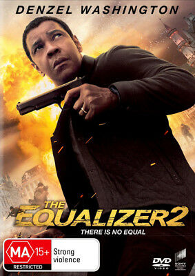 The Equalizer 2  - DVD - NEW Region 4