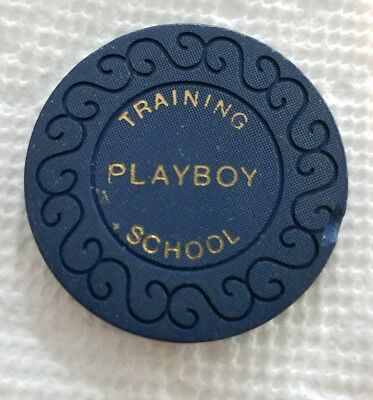 5 Pound 1977 Dealer Training Chip The Playboy Casino London England Employee