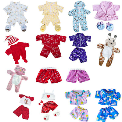 "TEDDY BEAR CLOTHES OUTFITS PYJAMAS PJ For 16"" 40cm Teddies & Build your own Bear"