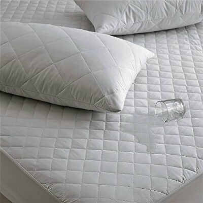 Anti Allergy Waterproof Quilted Mattress Protector-07022