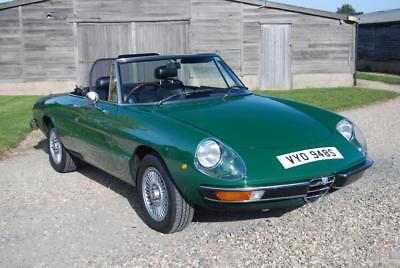 Alfa Romeo Spider S2 'Kammtail', VGC, History, Low mileage/owners