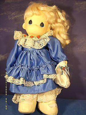 """Precious Moments 16 Inch Vintage 1998 Doll """"angelica"""" Pm Doll # 64836. New."""