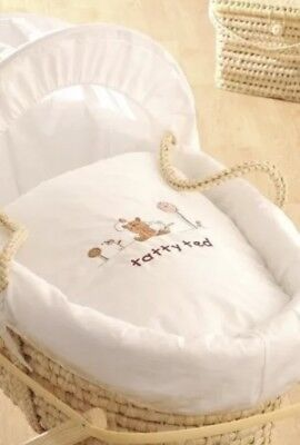 Genuine Isabella Alicia Tatty Ted Designer Baby moses basket & stand