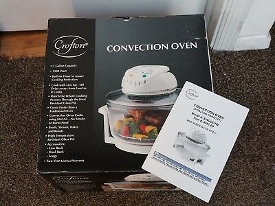 NEW/NIB Crofton CONVECTION OVEN Model 4881-09