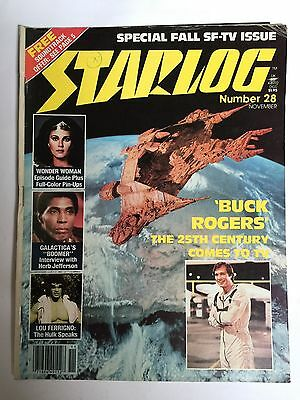 Starlog magazine issue no. 28