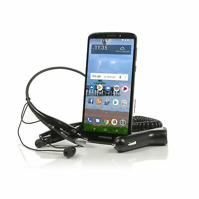 Tracfone Moto e5 Cell Phone + 1 Year of Service with 1200 MIN/1200 Text/1200MB