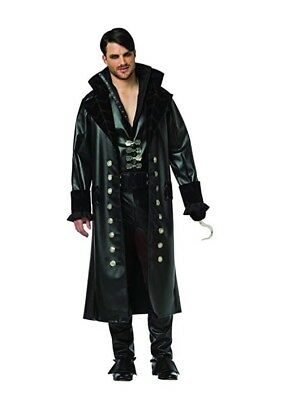 Rasta Imposta Men's Once Upon A Time Captain Hook Costume Halloween ~ XXL ~ NEW!