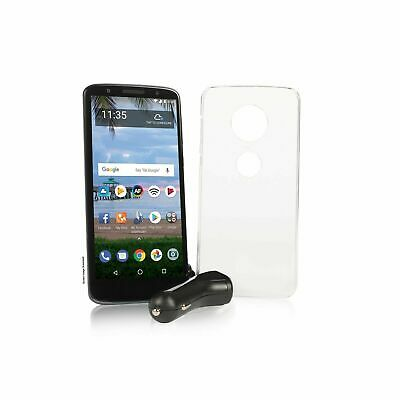 Tracfone Moto G6 Cell Phone + 1 Year of Service with 1200 MIN/1200 Text/1200MB