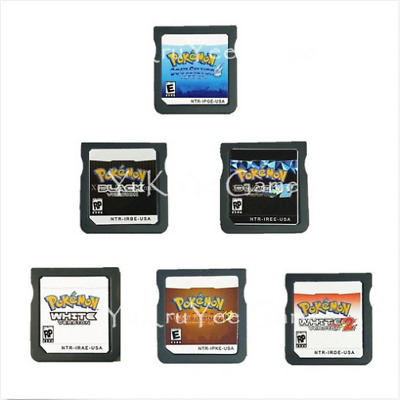 Pokemon Series White 2 Black 2 Heartgold Soulsilver Version Nintendo DS English