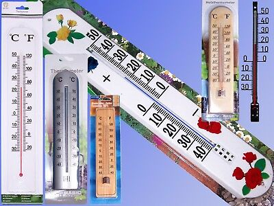 Wall Thermometer up to 50cm, Indoor Outdoor Jumbo XXL Garden