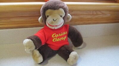 Vintage Curious George Stuffed Animal 12 inches by Gund
