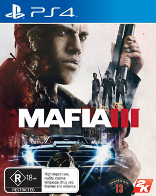 Mafia III 3 - PS4 Game - BRAND NEW SEALED - Playstation 4