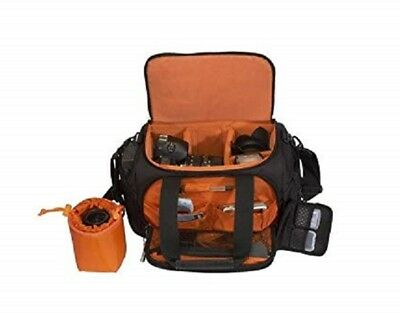 Delsey ODC 23 Large Top Load Camera Bag with Rain Cover