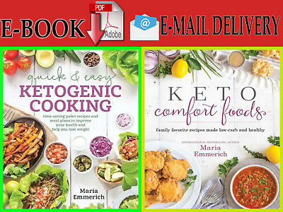 Quick and Easy Ketogenic Cooking & Keto Comfort Foods {E-B00K | PDF }