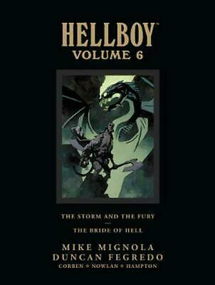 Hellboy Library Edition Volume 6 by Mike Mignola (English) Hardcover Book Free S
