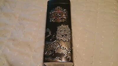 Chivas Regal Limited Edition  Empty Tin. Aged 12 Years