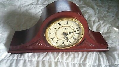 Westminster Chime Wooden Mantel/Desk Clock - Quartz Movement and Chimes Working