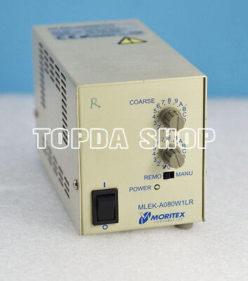 1PC MORITEX MLEK-A080W1LR machine vision Light source controller#SS