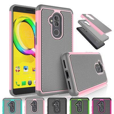 For Alcatel 7/Folio/Revvl 2 Plus Phone Case Shockproof Hybrid Rugged Hard Cover