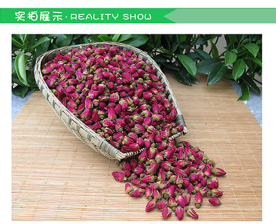 500g Red Rose Bud Tea, Aroma Dry flowers tea,Blooming Cherry tea 1.1LB/18OZ